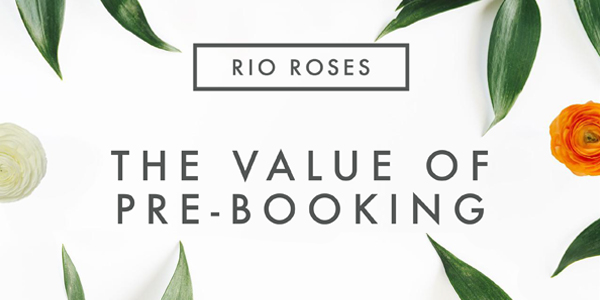 Value of pre-booking