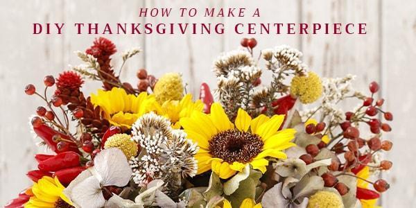 Diy Thanksgiving Centerpiece Rio Roses